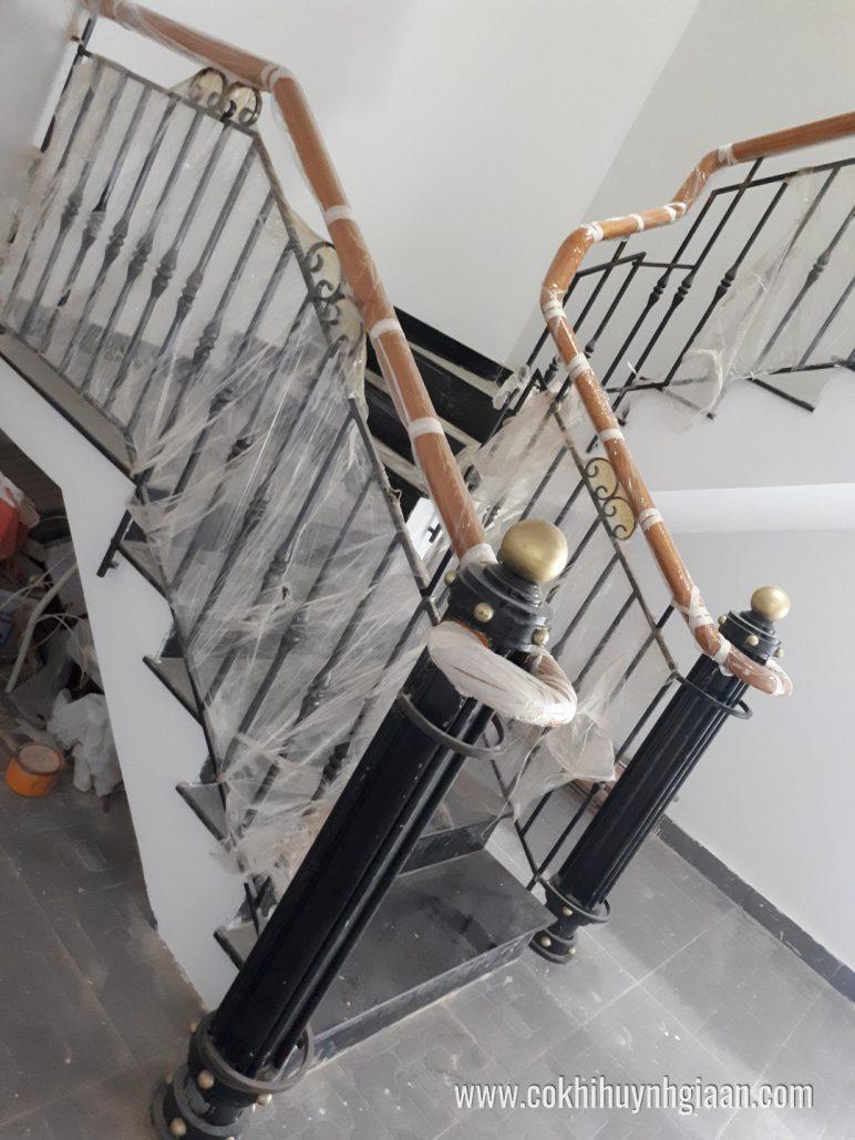 Top cầu thang sắt nghệ thuật năm 2018