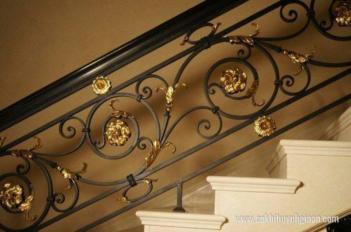 Cầu thang sắt nghệ thuật CT1124