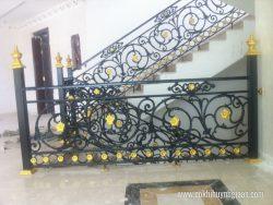 Cầu thang sắt mỹ thuật CT1128