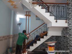 Cầu thang sắt nghệ thuật CT1141