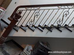 Cầu thang sắt nghệ thuật CT1143 sắc xảo