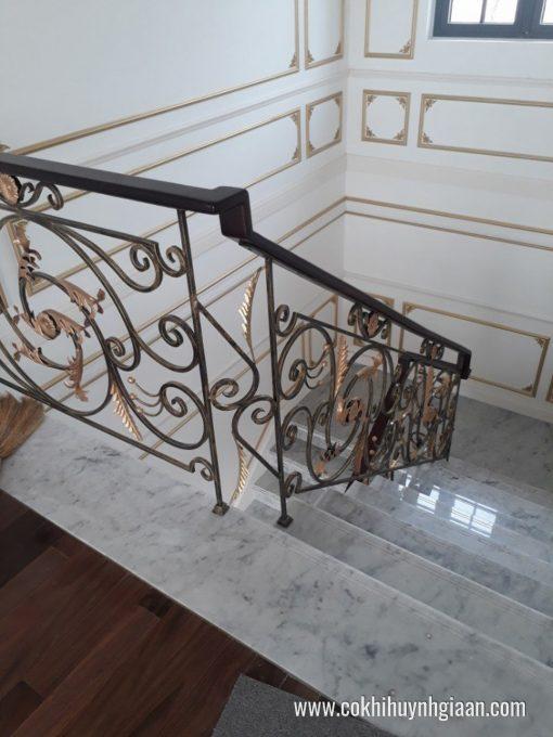 Cầu thang sắt nghệ thuật CT1146