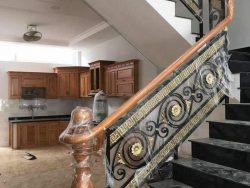 Cầu thang sắt nghệ thuật CT1150