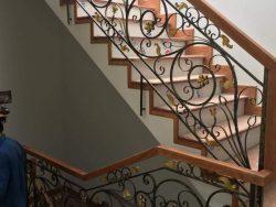 Cầu thang sắt nghệ thuật CT1151