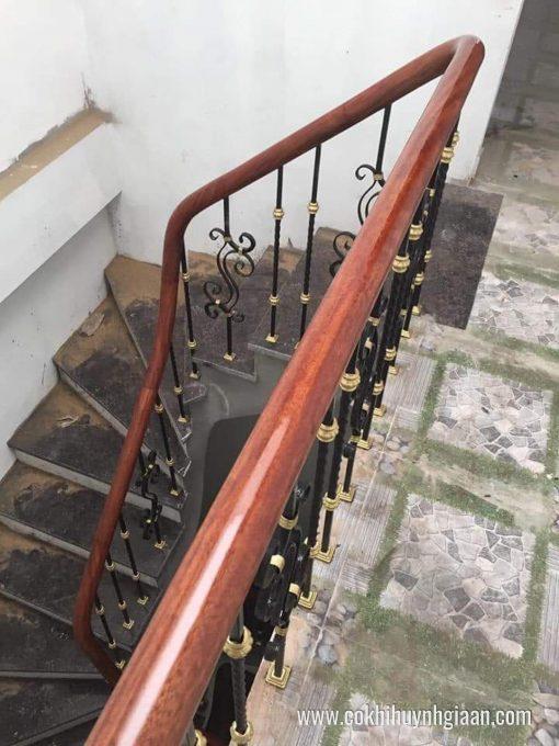 Cầu thang sắt nghệ thuật CT1155