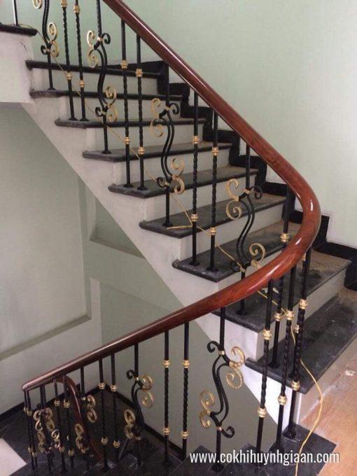 Cầu thang sắt nghệ thuật CT1156