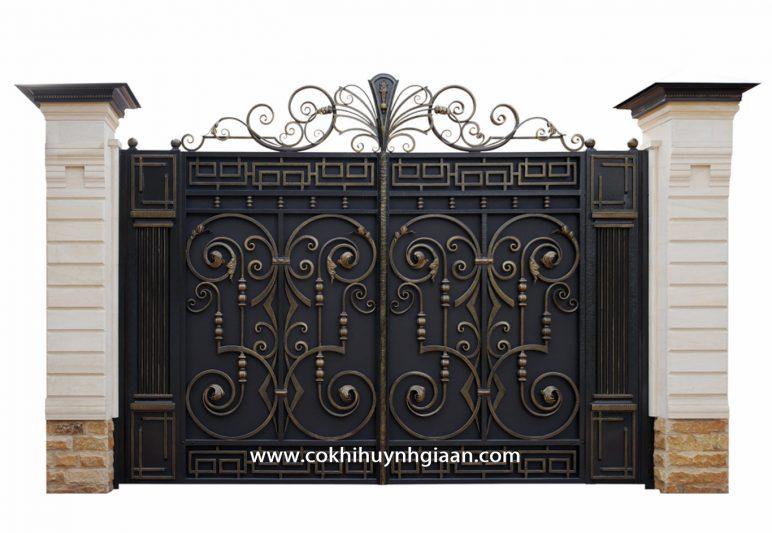 Cửa cổng Mỹ thuật CMT 1100