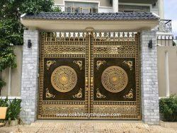 Cổng nhôm đúc mỹ nghệ CND1015
