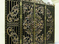 Cổng nhôm đúc mỹ nghệ CND1018