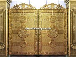 Cổng nhôm đúc mỹ nghệ CND1019