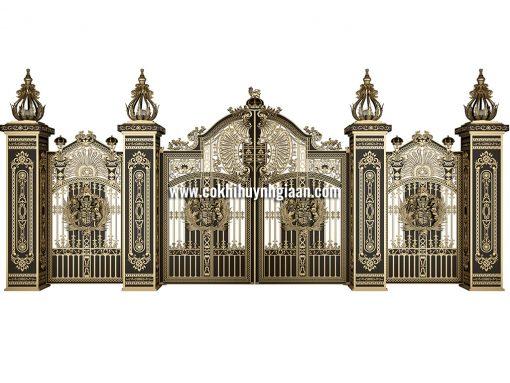 Cổng nhôm đúc mỹ nghệ CND1021