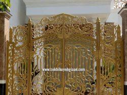 Cổng nhôm đúc mỹ nghệ CND1027