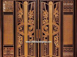 Cổng nhôm đúc mỹ nghệ CND1028