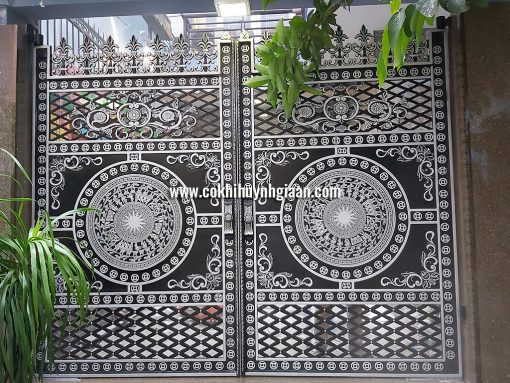 Cổng nhôm đúc mỹ nghệ CND1033