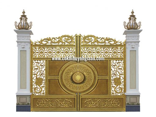 Cổng nhôm đúc mỹ nghệ CND1035