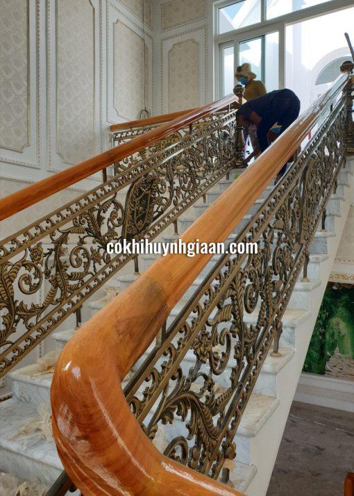 Cầu Thang Sắt Nghệ Thuật CT1181