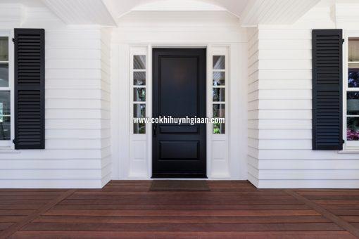Mẫu cửa sắt 1 cánh hiện đại, đơn giản mà đẹp 2020