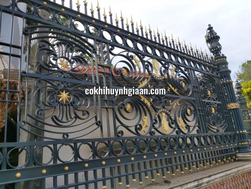 Hàng rào sắt mỹ thuật HR1008