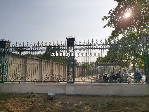 Hàng rào sắt mỹ thuật HR1015