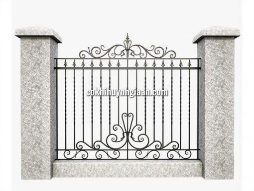 Hàng rào sắt mỹ thuật HR1016