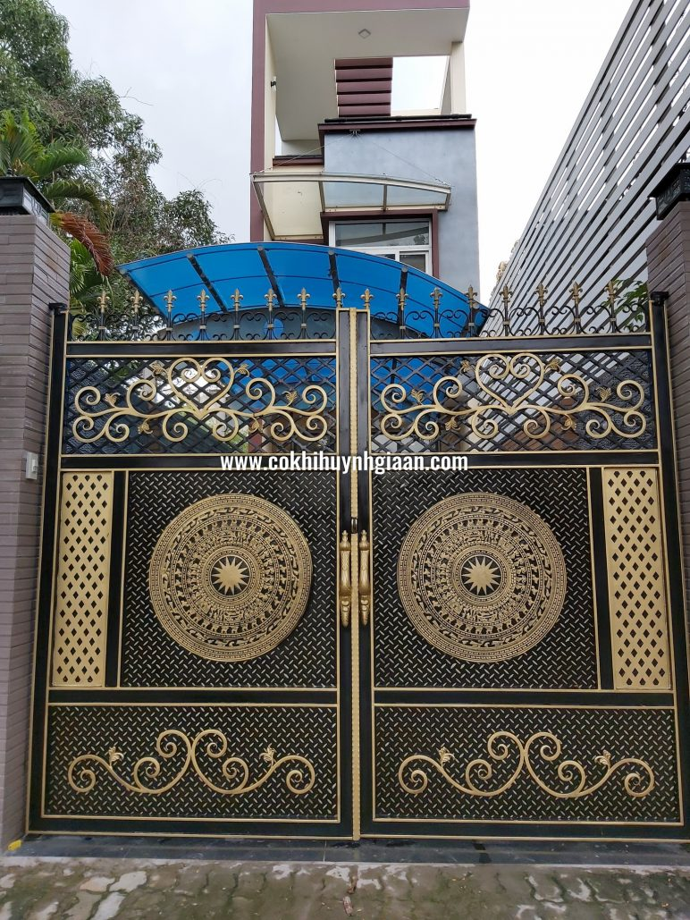 Cửa cổng Mỹ thuật CMT1101