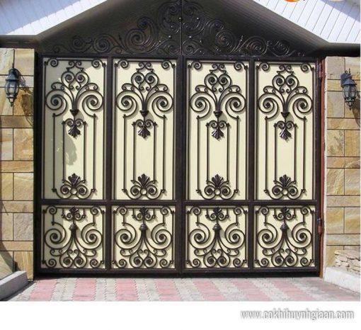 Cửa cổng Mỹ thuật CMT1117