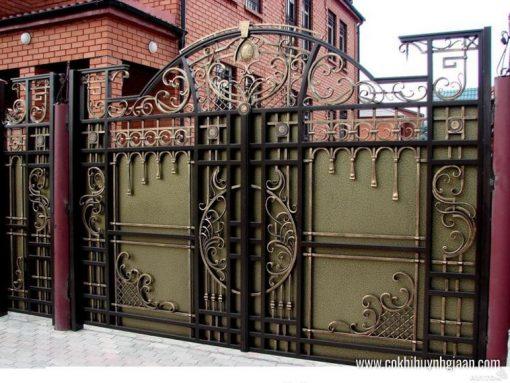Cửa cổng Mỹ thuật CMT1124