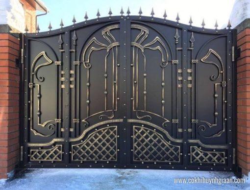 Cửa cổng Mỹ thuật CMT1137