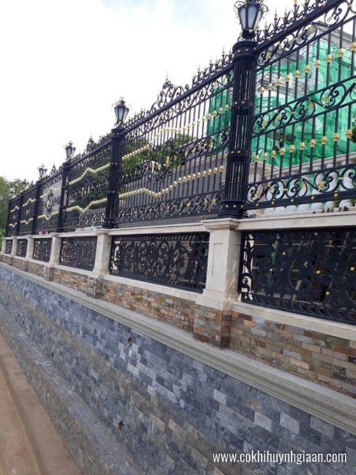 Hàng rào sắt mỹ thuật HR1022