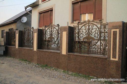 Hàng rào sắt mỹ thuật HR1023