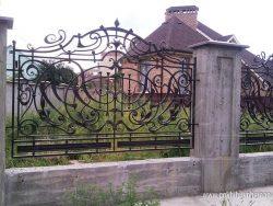 Hàng rào sắt mỹ thuật HR1027